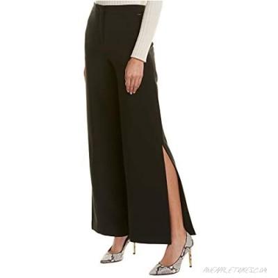 AX Armani Exchange Women's Mid Rise Wide Leg Trouser