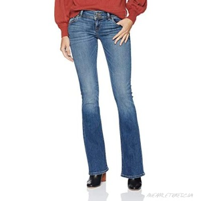 HUDSON Women's Signature Mid Rise Bootcut Jean with Back Flap Pockets
