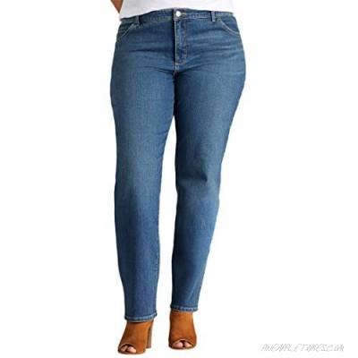 Lee Instantly Slim Straight Leg Jeans (Plus)