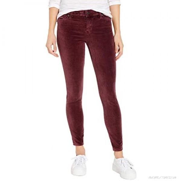 Lucky Brand Women's Mid Rise Ava Skinny Jean in Cabernet