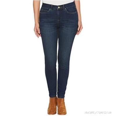 Rafaella Women's Petite Slimming Fit Ankle Denim
