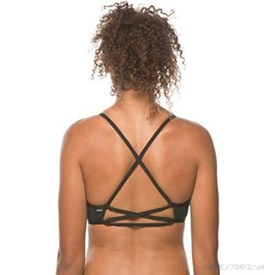 JOLYN Women's Fixed-Back Xavier Swimwear Top