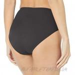 Fit 4 U Women's Solid Swim Brief Bikini Bottom