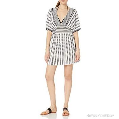Trina Turk Women's V-Neck Tunic Cover Up Dress