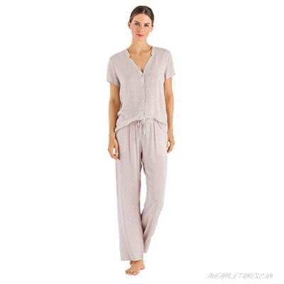 HANRO Women's Sleep and Lounge Long Sleeve Shirt
