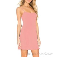 Nightgowns for Women with Built in Bra Removable Pads Nightshirt Dress Sleepwear Sleeveless Nightdress Full Slips