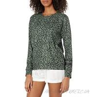PJ Salvage Women's Loungewear Running Wild Long Sleeve Top