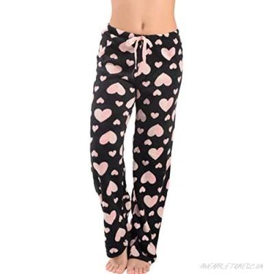 Active Club Women's Pajama Lounge Pants Plush Fleece Pajama/Lounge Pjs