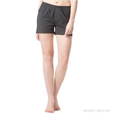 Fishers Finery Organic Cotton Bamboo Viscose Sleep Shorts for Women