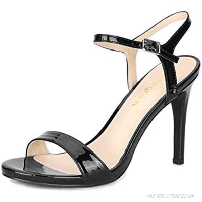 Allegra K Women's Slingback Stiletto High Heels Sandals