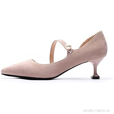 Womens Heels Sandals Hand-made kitten Heeled Closed Toe Summer Slip On Bridesmaid Pumps Sandals for Wedding