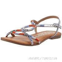 GIOSEPPO Women's Ankle-Strap Flat Sandal