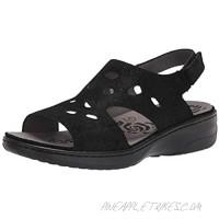 Propet Women's Gabbie Sandal Black 7 X-Wide