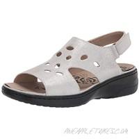Propet Women's Gabbie Sandal Silver 7