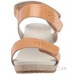 Propet Women's Madrid Espadrille Wedge Sandal Oyster 9.5