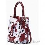 Kate Spade New York Eva Small Leather Bucket Crossbody Bag