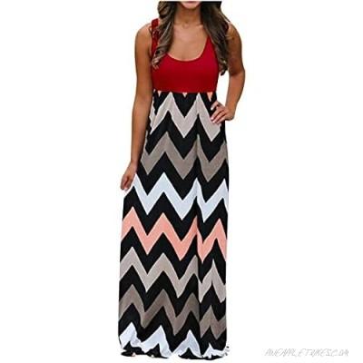 Cold Shoulder Maxi Dress Women Summer Casual Long Dress Floral Sundress with Pockets for Beach Weddings