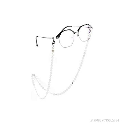 CosTimo Women Eyeglass Chains Glasses Sunglass Mask Chain Lanyards Copper Pearl Gold Silver