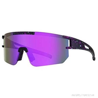 New Designed Outdoor sports Vipers polarized glasses unisex fashion Tr90 Frame UV400 Protection Glasses Sports Fishing Golf Baseball Running Glasses(C4)