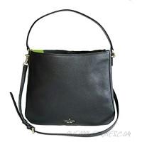 KATE SPADE Double Compartment Shoulder Women's Jackson Leather Handbag