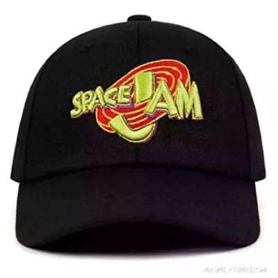 Space Jam Adjustable Hat Black