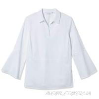 Foxcroft Women's Jasmine Solid Stretch Blouse