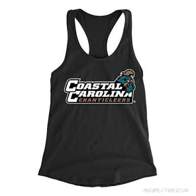 Venley Official NCAA Coastal Carolina Chanticleers Women's Racerback Tank Top PPCCU03