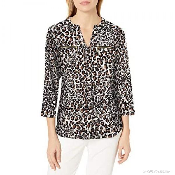 Nanette Nanette Lepore Women's Knit Tunic W/Zippers